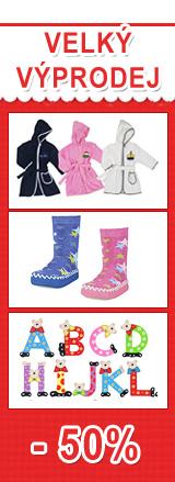 - dětské boty, plavky, oblečení pro děti